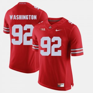 #92 Adolphus Washington Ohio State Buckeyes Mens Alumni Football Game Jersey - Scarlet
