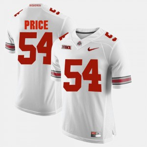 #54 Billy Price Ohio State Buckeyes For Men's Alumni Football Game Jersey - White