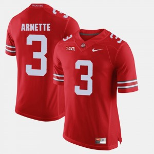 #3 Damon Arnette Ohio State Buckeyes Alumni Football Game For Men Jersey - Scarlet