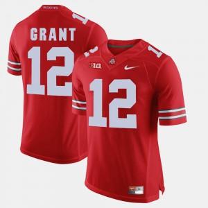 #12 Doran Grant Ohio State Buckeyes Men's Alumni Football Game Jersey - Scarlet
