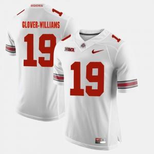 #19 Eric Glover-Williams Ohio State Buckeyes Alumni Football Game For Men's Jersey - White