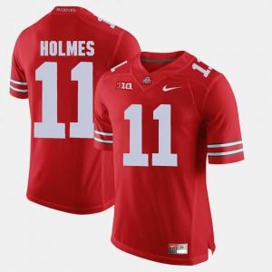 #11 Jalyn Holmes Ohio State Buckeyes Mens Alumni Football Game Jersey - Scarlet