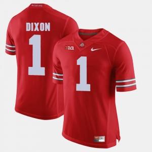 #1 Johnnie Dixon Ohio State Buckeyes Mens Alumni Football Game Jersey - Scarlet