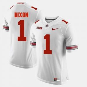 #1 Johnnie Dixon Ohio State Buckeyes Alumni Football Game For Men's Jersey - White