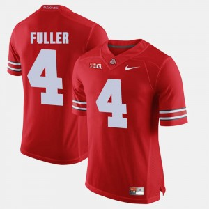 #4 Jordan Fuller Ohio State Buckeyes Men's Alumni Football Game Jersey - Scarlet