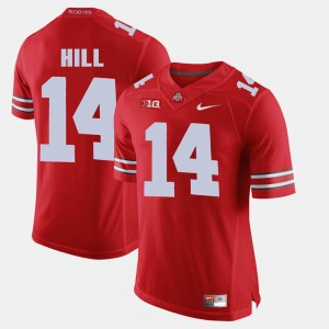 #14 K.J. Hill Ohio State Buckeyes Mens Alumni Football Game Jersey - Scarlet