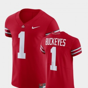 #1 Ohio State Buckeyes Men's V-Neck Football Elite Jersey - Scarlet