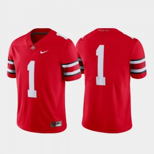 #1 Ohio State Buckeyes Limited College Football Men Jersey - Scarlet
