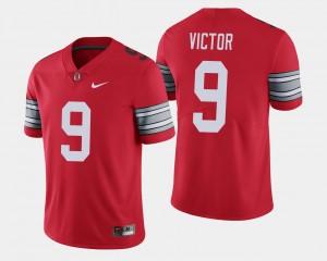 #9 Binjimen Victor Ohio State Buckeyes Mens 2018 Spring Game Limited Jersey - Scarlet