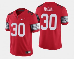 #30 Demario McCall Ohio State Buckeyes 2018 Spring Game Limited Men's Jersey - Scarlet