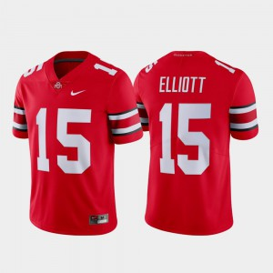#15 Ezekiel Elliott Ohio State Buckeyes Men Limited Name & Number Jersey - Scarlet