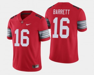 #16 J.T. Barrett Ohio State Buckeyes 2018 Spring Game Limited For Men's Jersey - Scarlet