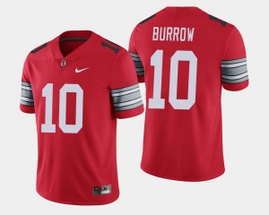 #10 Joe Burrow Ohio State Buckeyes 2018 Spring Game Limited Mens Jersey - Scarlet