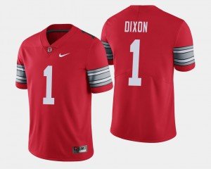 #1 Johnnie Dixon Ohio State Buckeyes Men's 2018 Spring Game Limited Jersey - Scarlet