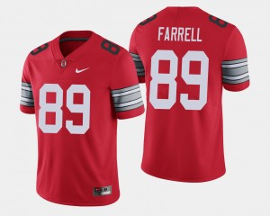 #89 Luke Farrell Ohio State Buckeyes 2018 Spring Game Limited Men's Jersey - Scarlet