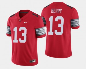 #13 Rashod Berry Ohio State Buckeyes 2018 Spring Game Limited Mens Jersey - Scarlet