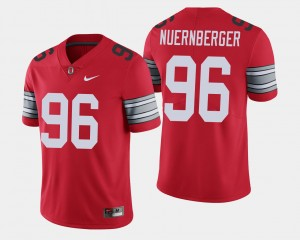 #96 Sean Nuernberger Ohio State Buckeyes 2018 Spring Game Limited Men Jersey - Scarlet