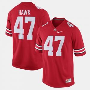 #47 A.J. Hawk Ohio State Buckeyes Alumni Football Game Men Jersey - Scarlet