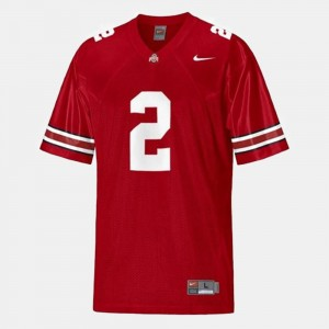 #2 Cris Carter Ohio State Buckeyes Men's College Football Jersey - Red
