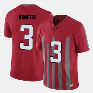#3 Damon Arnette Ohio State Buckeyes For Men's College Football Jersey - Red