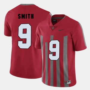#9 Devin Smith Ohio State Buckeyes College Football For Men Jersey - Red