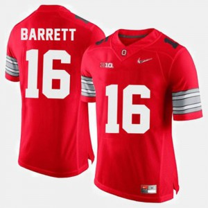 #16 J.T. Barrett Ohio State Buckeyes Mens College Football Jersey - Red