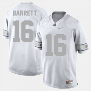 #16 J.T. Barrett Ohio State Buckeyes College Football Men's Jersey - White