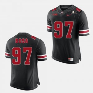 #97 Joey Bosa Ohio State Buckeyes College Football For Men's Jersey - Black