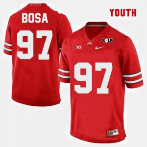 #97 Joey Bosa Ohio State Buckeyes College Football For Kids Jersey - Red