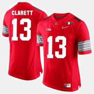 #13 Maurice Clarett Ohio State Buckeyes College Football Men Jersey - Red