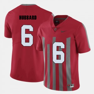 #6 Sam Hubbard Ohio State Buckeyes Men's College Football Jersey - Red