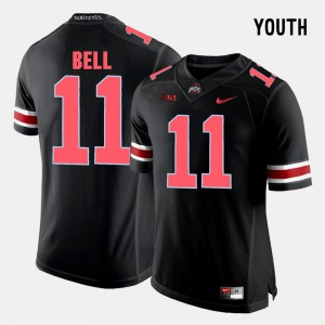 #11 Vonn Bell Ohio State Buckeyes Youth College Football Jersey - Black