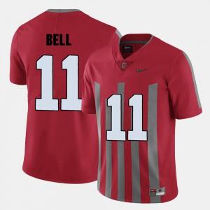 #11 Vonn Bell Ohio State Buckeyes College Football Men's Jersey - Red