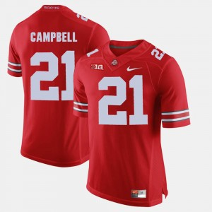 #21 Parris Campbell Ohio State Buckeyes Alumni Football Game For Men's Jersey - Scarlet