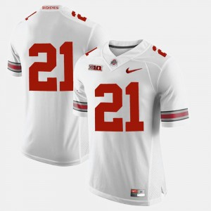 #21 Parris Campbell Ohio State Buckeyes Alumni Football Game Men's Jersey - White