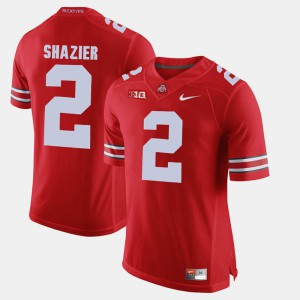 #2 Ryan Shazier Ohio State Buckeyes For Men Alumni Football Game Jersey - Scarlet