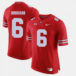 #6 Sam Hubbard Ohio State Buckeyes Men Alumni Football Game Jersey - Scarlet