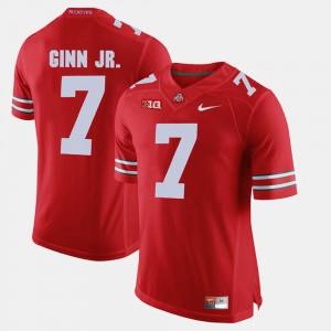 #7 Ted Ginn Jr. Ohio State Buckeyes Alumni Football Game For Men Jersey - Scarlet