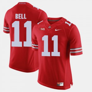 #11 Vonn Bell Ohio State Buckeyes Alumni Football Game Mens Jersey - Scarlet